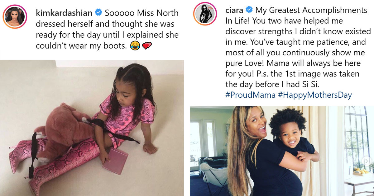 These Celebrity Moms Had The Most Relatable Mom Moments Of The Year