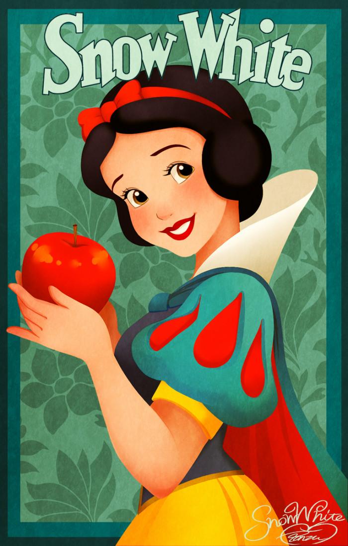 19. Snow white
