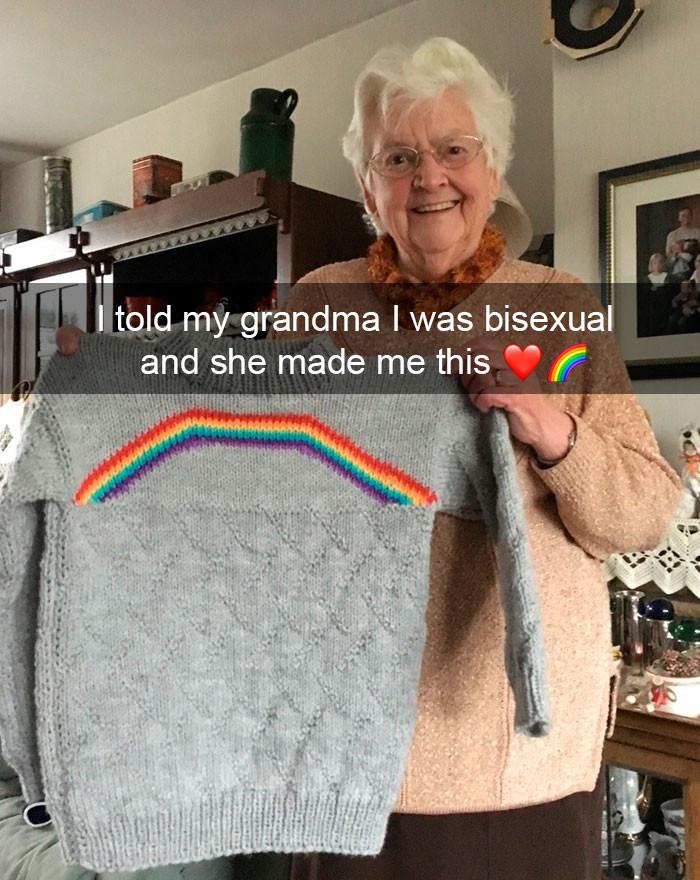 34. Awesome grandma
