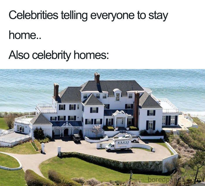 I'd stay home, too.