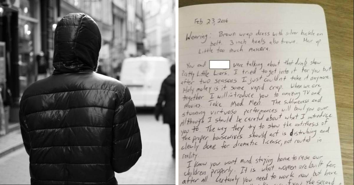 Woman Finds Out Her Coworker Has Been Writing Stalker-Like Journals About Her And They Are Seriously Creepy