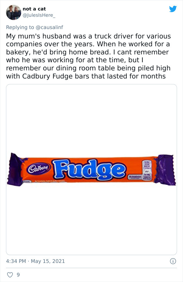 Cadbury fudge bars
