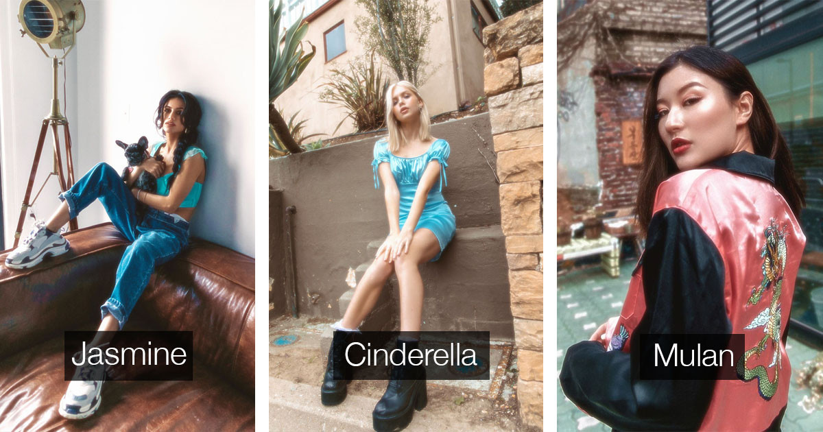 Photographer Uses Real Models To Re-Imagine Disney Princesses In Real Life