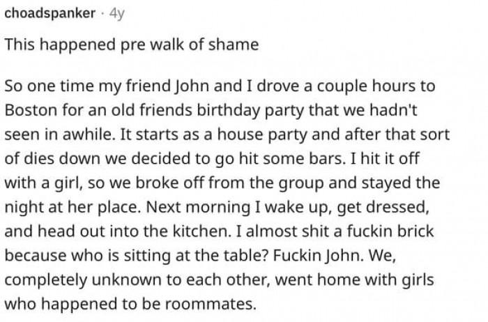 2. Honestly, this is a best case bro-scenario.